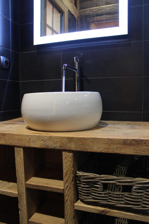 Location de chalet for Le sal de bain