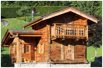 Renting a luxury farmhouse in the centre of Samoëns